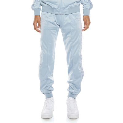 222 Banda Deky Trackpants - Baby Blue White