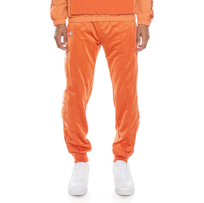 222 Banda Deky Trackpants - Orange Dusty White