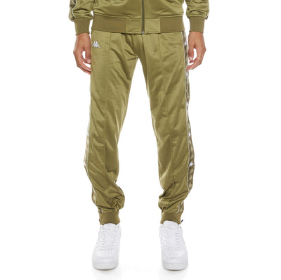 222 Banda Deky Trackpants - Green Olive