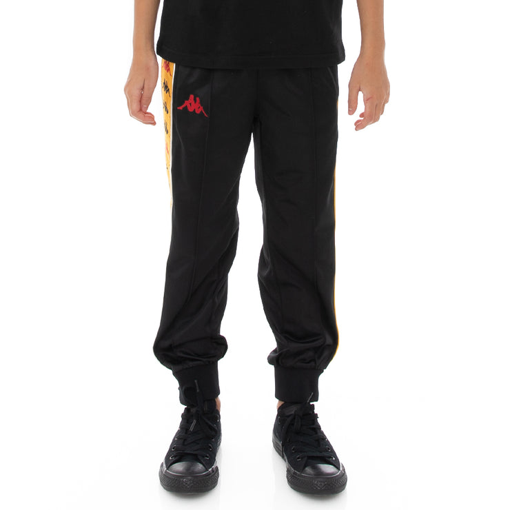 Kids 222 Banda Deky Trackpants - Black