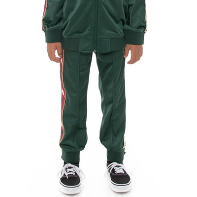 Kids 222 Banda Deky Trackpants - Green