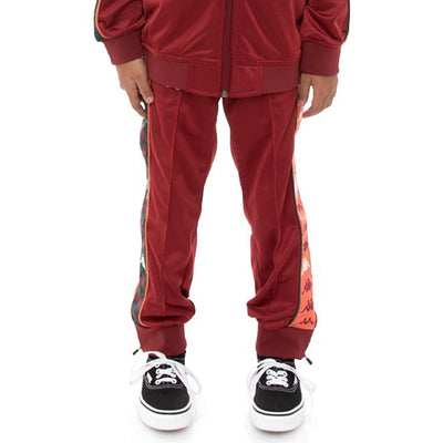 Kids 222 Banda Deky Trackpants - Red