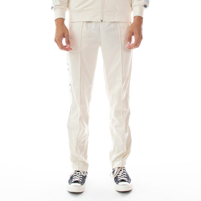 222 Banda Dugrot Trackpants - White Egg Illusion Blue