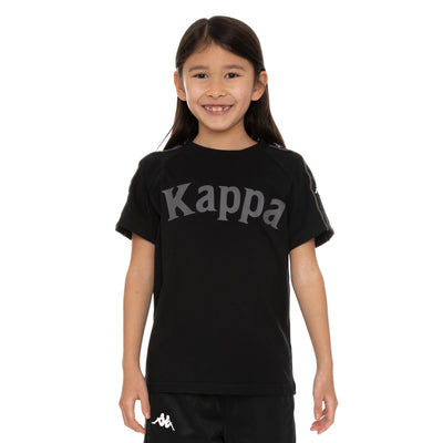 Kids 222 Banda Deto T-Shirt - Black Grey White