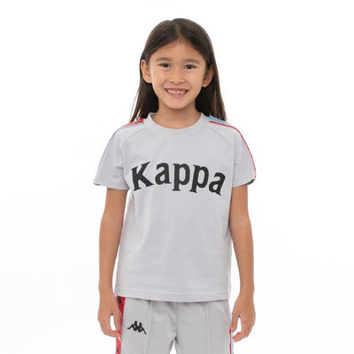Kids 222 Banda Deto T-Shirt - Grey