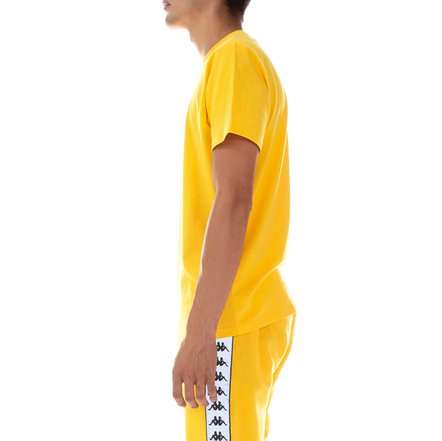 Authentic Dris Reflective T-Shirt Yellow Grey Reflective