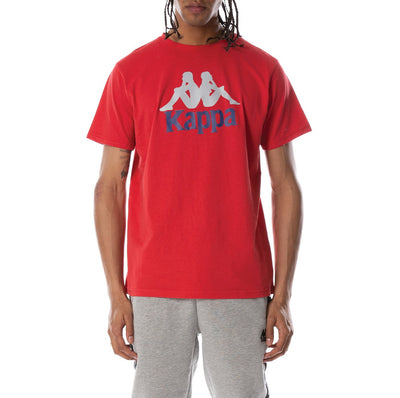 Authentic Dris Reflective T-Shirt - Red Blue