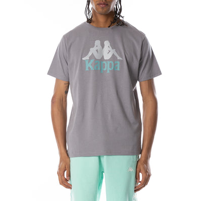 Authentic Dris Reflective T-Shirt - Grey Aqua