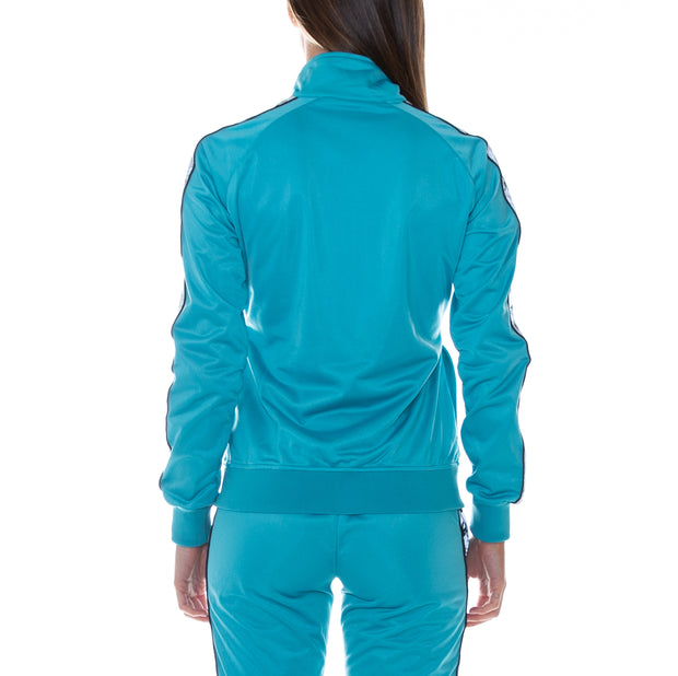 222 Banda Dolly Reflective Track Jacket - Blue Bird  Reflective