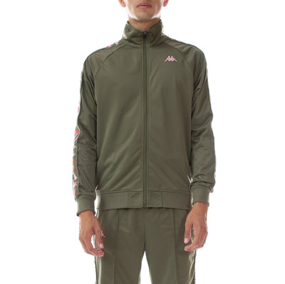 222 Banda Dullo Track Jacket - Green Pink