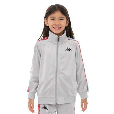 Kids 222 Banda Dullo Track Jacket - Grey