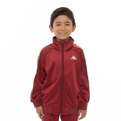 Kids 222 Banda Dullo Track Jacket - Red