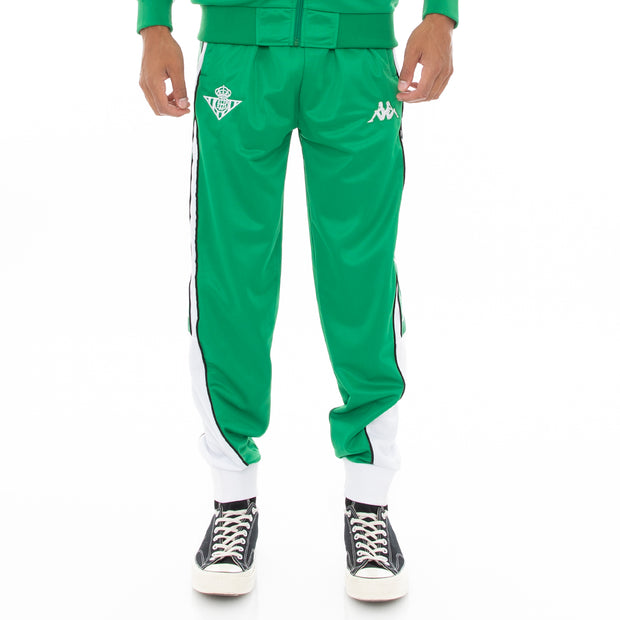 222 Banda 10 Aril Retro Betis Trackpants - Green White