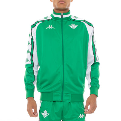 222 Banda 10 Ahran Retro Betis Track Jacket - Green White