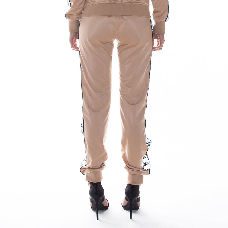 222 Banda Dinas Reflective Trackpants - Hazelnut Reflective