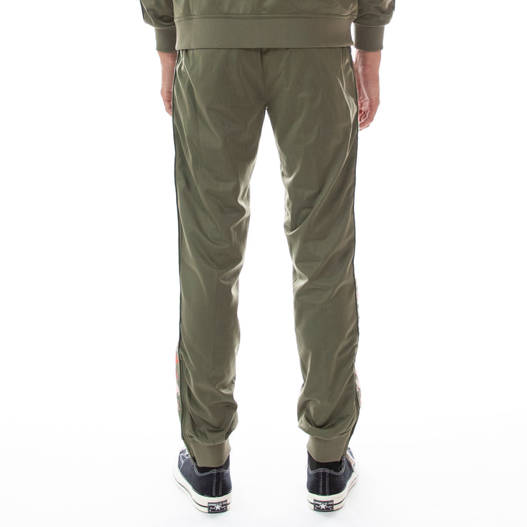 222 Banda Deky Trackpants - Green Pink