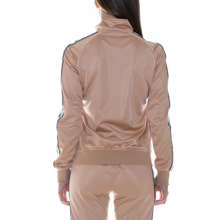 222 Banda Dolly Reflective Track Jacket - Hazelnut Reflective