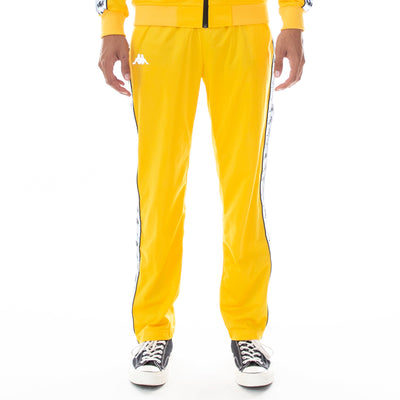 222 Banda Disso Reflective Trackpants - Yellow Grey Reflective