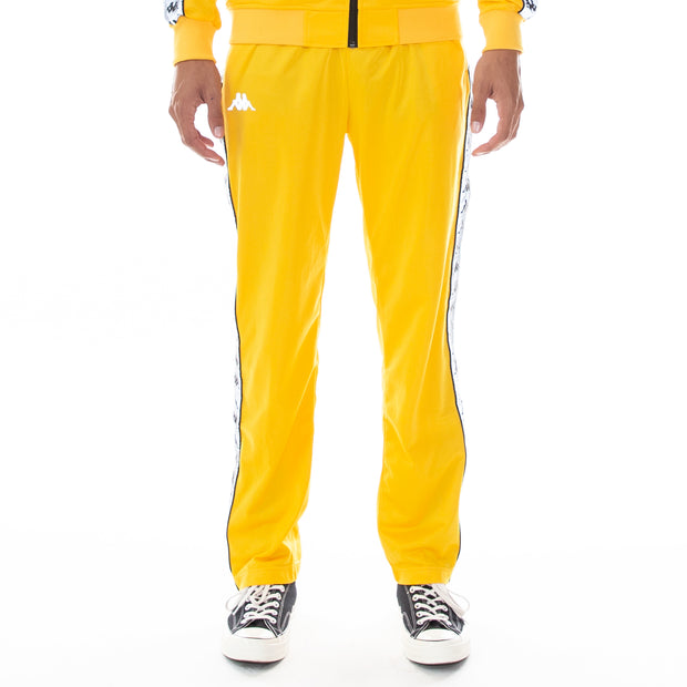 222 Banda Disso Reflective Trackpants Yellow Grey Reflective