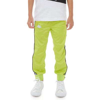 Kids 222 Banda Dodo Reflective Trackpants - Green Lime