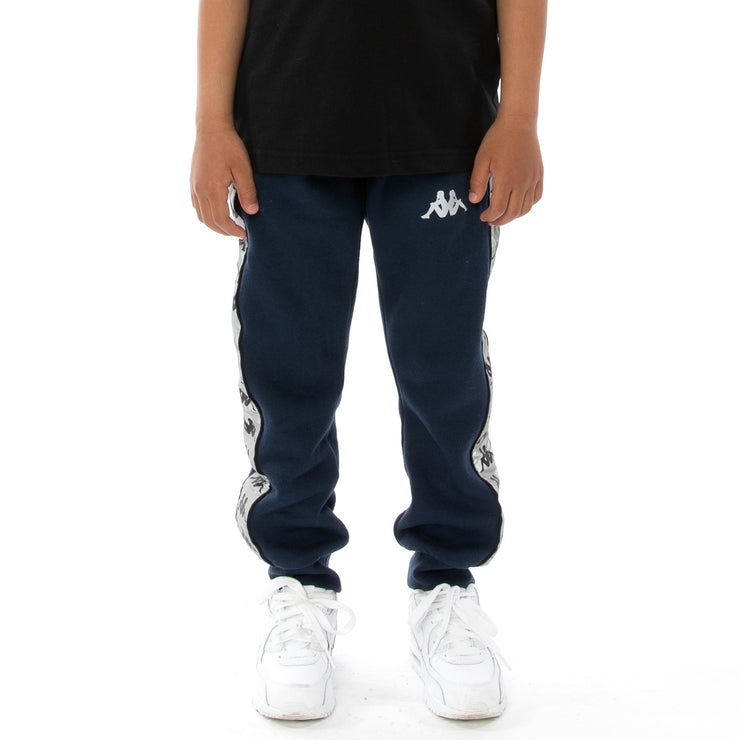 Kids 222 Banda Dariis Reflective Sweatpants - Blue Grey Reflective
