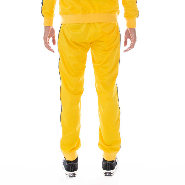 222 Banda Dodo Reflective Trackpants Yellow Grey Reflective