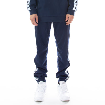 222 Banda Dodo Reflective Trackpants - Blue Grey Reflective