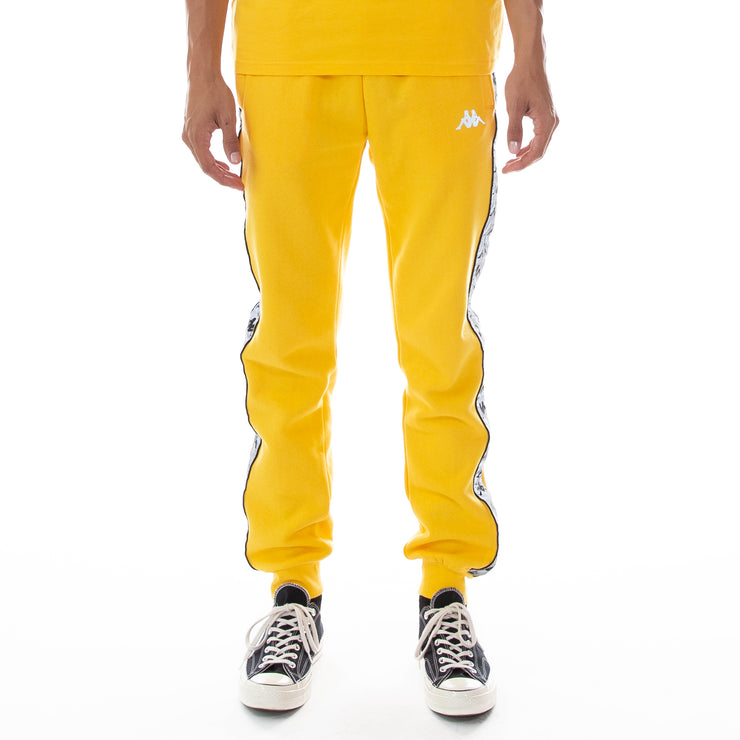 222 Banda Dariis Reflective Sweatpants - Yellow Grey Reflective