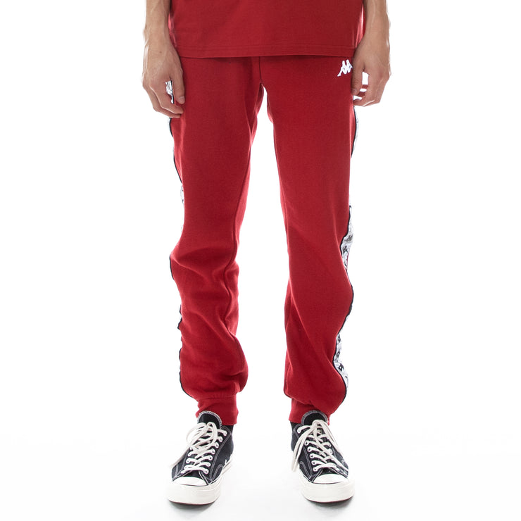 222 Banda Dariis Reflective Sweatpants - Red Grey Reflective