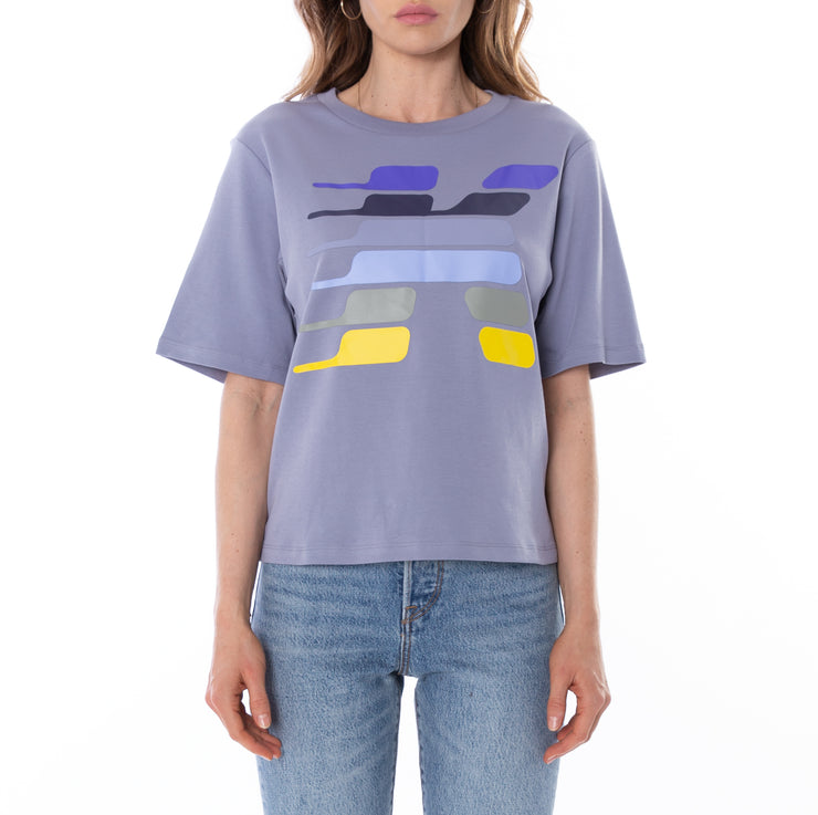 Kontroll Key T-Shirt Blue Mauve