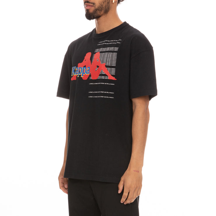 Authentic HB Ekrin T-Shirt - Black Red