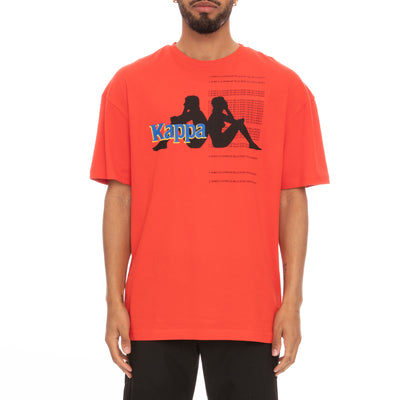 Authentic HB Ekrin T-Shirt - Red Black