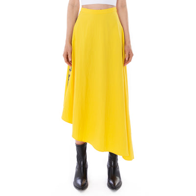 Kontroll Midi Skirt Yellow