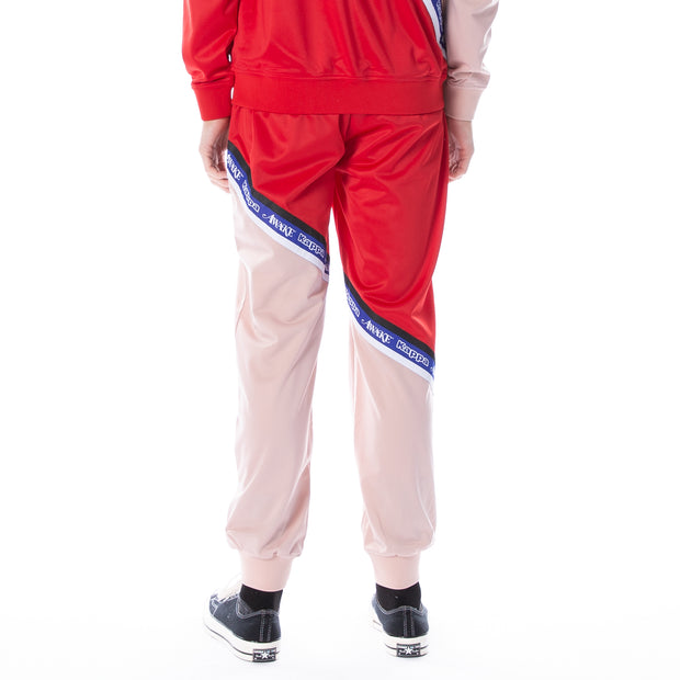 Awake NY x Kappa Emut Trackpants Pink Red