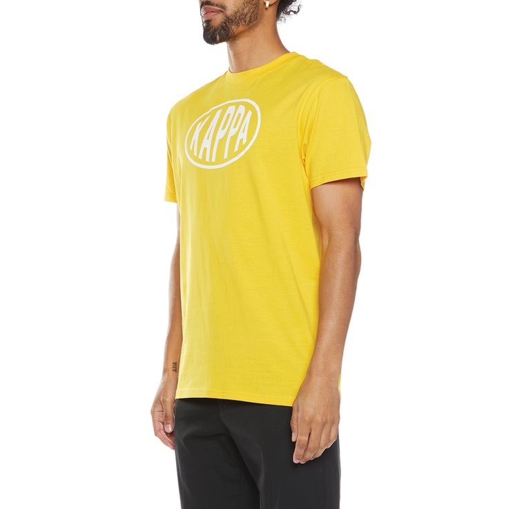 Authentic Pop Esazar T-Shirt - Yellow Dk White