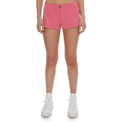 Authentic Pop Esia Shorts - Fuchsia White