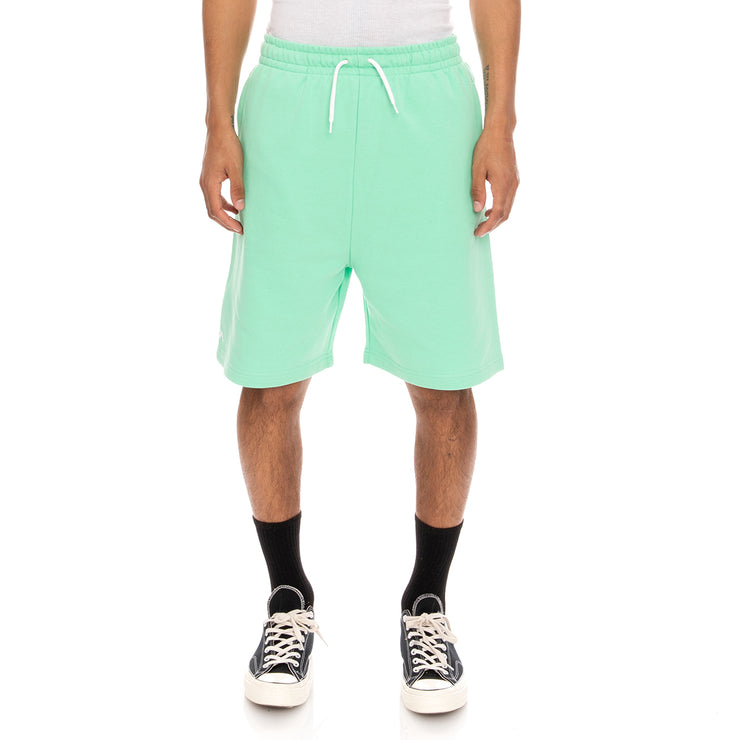 Authentic Pop Ebastia Shorts - Green Spring White