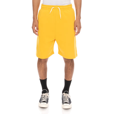 Authentic Pop Ebastia Shorts - Yellow Dk White