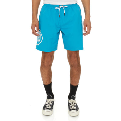 Authentic Pop Emay Swim Shorts - Sea White