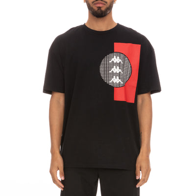 Authentic HB Eliks T-Shirt - Black Red