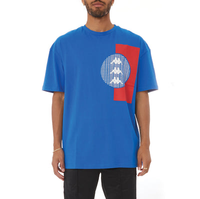 Kappa Authentic HB Eliks T-Shirt - Royal Red