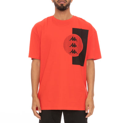 Authentic HB Eliks T-Shirt - Red Black