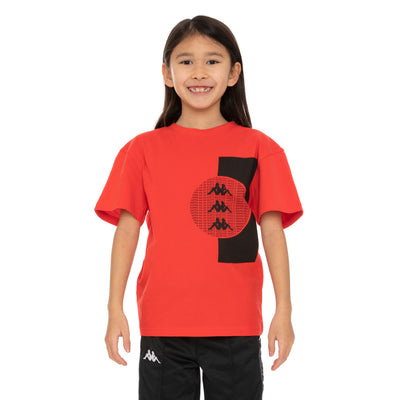 Kids Authentic Hb Eliks T-Shirt - Red White