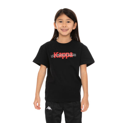 Kids Authentic Hb Etrus T-Shirt - Black Red