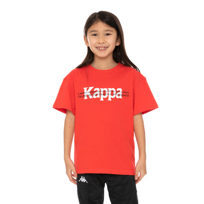 Kids Authentic Hb Etrus T-Shirt - Red White