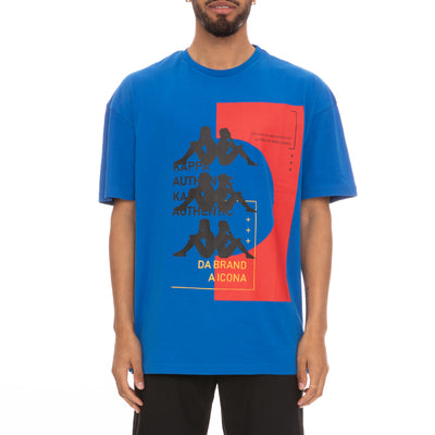 Authentic HB Etas T-Shirt - Royal Red