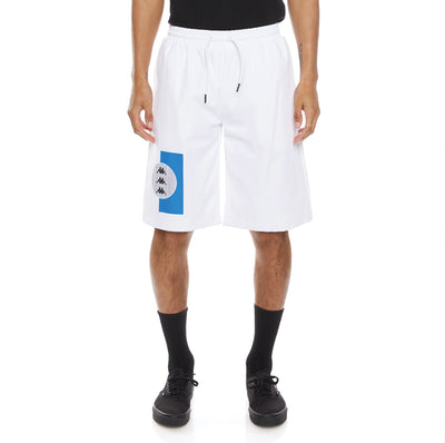 Authentic HB Erik Shorts - White Blue Royal