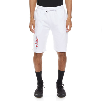 Authentic HB Eloss Shorts - White Red
