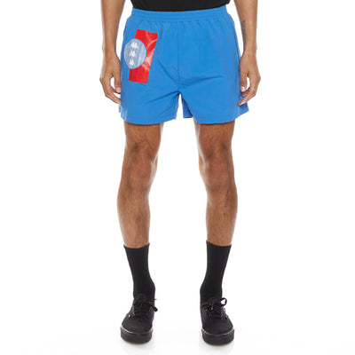 Authentic HB Ethan Swim Shorts - Royal Red