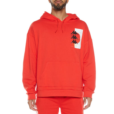 Authentic HB Elsin Hoodie - Red White